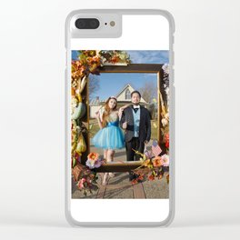 American Gothic Quinceañera Clear iPhone Case