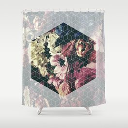 Spring Geometry Shower Curtain