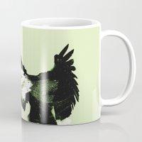 eagle Mugs featuring Eagle by Yaroslav Greb
