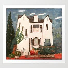 920 Hoover House Art Print