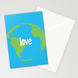 love earth Stationery Cards