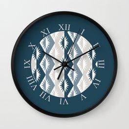 Atomic Positive Negative Starburst Wall Clock