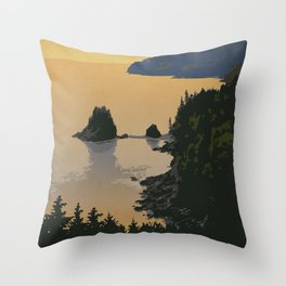Fundy National Park Throw Pillow