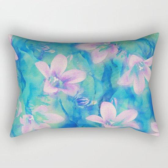Bellflowers Rectangular Pillow