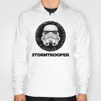 stormtrooper Hoodies featuring stormtrooper by Tarik Ali Sert