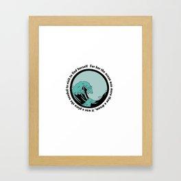 Ocean Discovery Framed Art Print