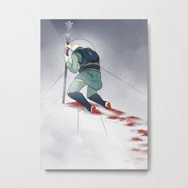 Companion Fears - Dying Alone Metal Print
