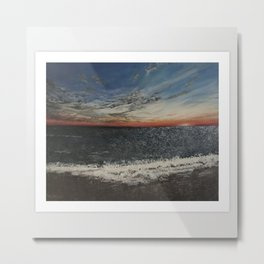 Tropical Beach 2 Metal Print