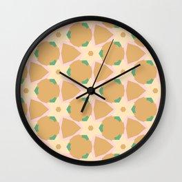 Circulating Triangle Pattern Wall Clock