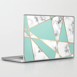 Marble Geometry 055 Laptop & iPad Skin