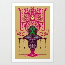 Ace, the Creator Art Print
