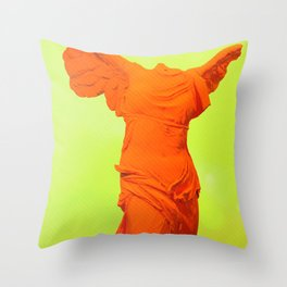 Ultraviolet /// Victory Throw Pillow