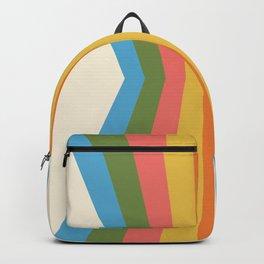 Retro Rainbow Reflection Backpack