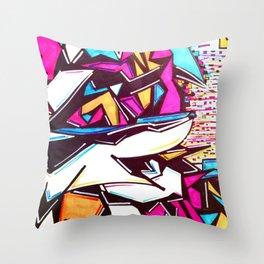 Blockage Throw Pillow