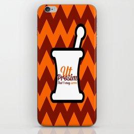 Pharm Hokie! iPhone Skin