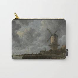 Jacob van Ruisdael - The Windmill at Wijk bij Duurstede Carry-All Pouch