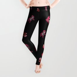 Pink Teddy Bear Leggings