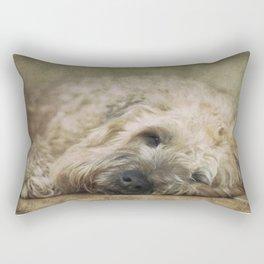 Wheaten Terrier - Let Sleeping Dogs Lie Rectangular Pillow