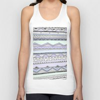 tribal Tank Tops featuring Tribal by Fay Newman