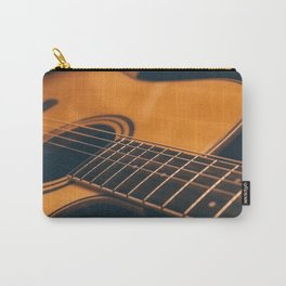 Acoustic guitar closeup Carry-All Pouch