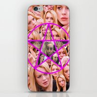 pentagram iPhone & iPod Skins featuring HOLY PENTAGRAM by plasticdesigns