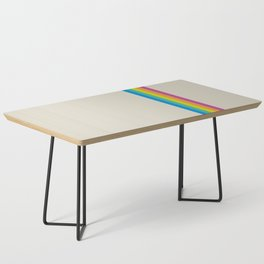 Rainbow - vintage photo Coffee Table