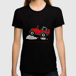 That's how I roll - Red Jeep T-shirt