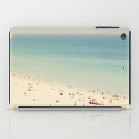beach iPad Cases featuring beach by Ingrid Beddoes