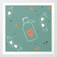 Pitadinha de Amor 2 Art Print