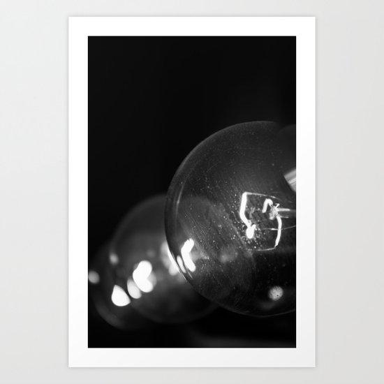 Blooming Bulbs Art Print