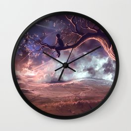 It made scars in the sky  Wall Clock