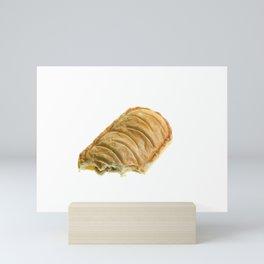 Chicken and mushroom pie Mini Art Print