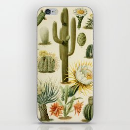 Naturalist Cacti iPhone Skin