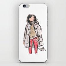 Duffle Coat iPhone & iPod Skin