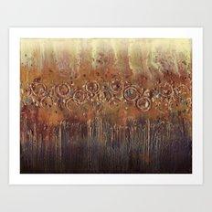 Dandelion Roar Art Print
