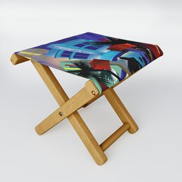 Miami Beach Folding Stool