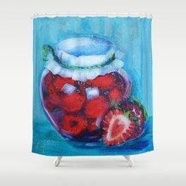 Jam jar Shower Curtain