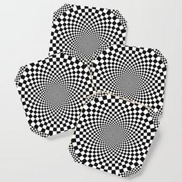 Vertigo Optical Art Coaster