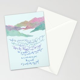 It Is Well With My Soul-Hymn Stationery Cards