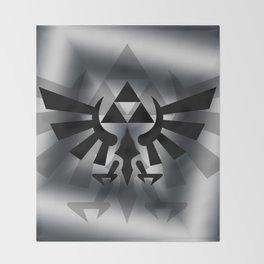 The Legend Of Zelda Logo Throw Blanket