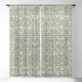 Forest Power Sheer Curtain