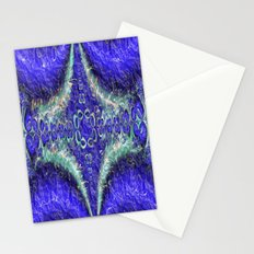 Fluffy Blues Stationery Cards