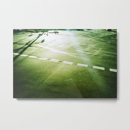 road paintings (cross kreuzung) Metal Print