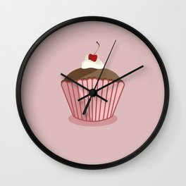 pink world Wall Clock