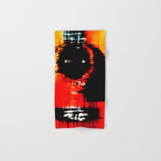 Acoustic Abstract Hand & Bath Towel