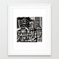 hip hop Framed Art Prints featuring Hip Hop by J. Unger Photography