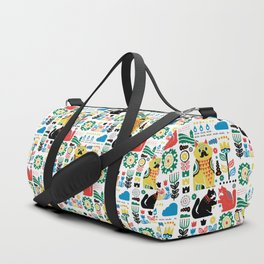 Scandinavian Cats Duffle Bag