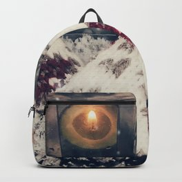 have a cozy winter Backpack