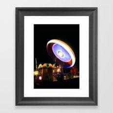 Fairground Spinner Framed Art Print