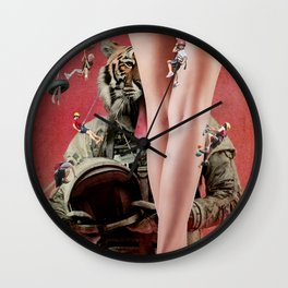Ready for Takeoff Wall Clock